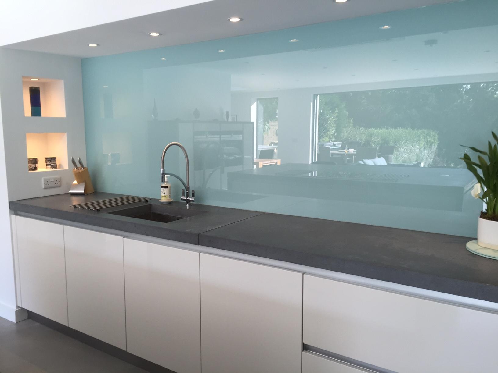 Glass Splashback in Borehamwood