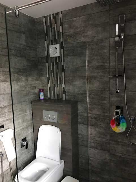 Empire of Glass-Glass Shower Screen in Borehamwood